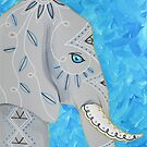 Embellished Elephant by Express Yourself Artshop