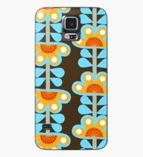 Folk art style flowers Case/Skin for Samsung Galaxy