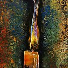 Candle Flame by Michael Creese
