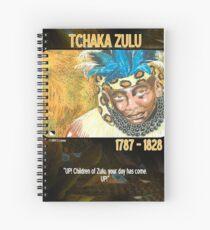 Tchaka Zulu Spiral Notebook