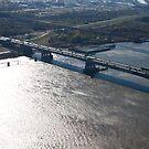 The Eads Railroad Bridge, St. Louis, MO by Jack McCabe