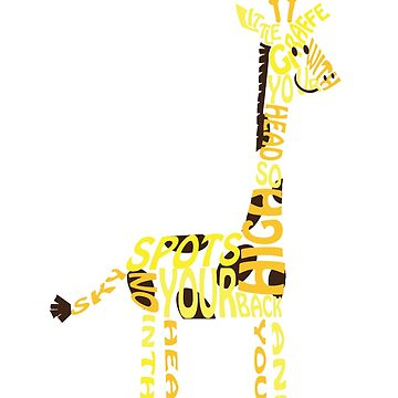 Little Giraffe by kellandria