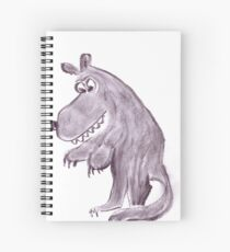 Frightening werwolf Spiral Notebook