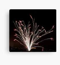 Firework tree Canvas Print