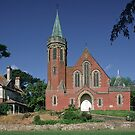 1903 Presbyterian Church Daylesford Victoria 19861106 0037 by Fred Mitchell