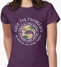Pangolin lebt Angelegenheit, retten die Pangolins Tailliertes T-Shirt