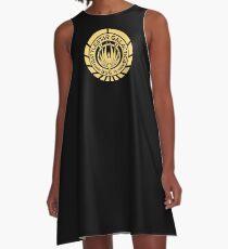 Battlestar Galactica A-Line Dress
