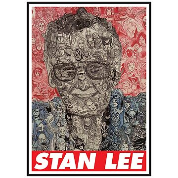 Stan Lee All Hero by grouppixel