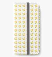 Oil pastel ditsy daffodils iPhone Wallet/Case/Skin