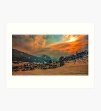 a stunning Austria landscape Art Print