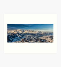 a historic Austria landscape Art Print