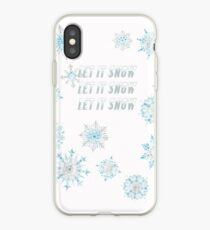 Let It Snow for Afton Band - 40 plus items  iPhone Case