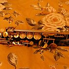 Soprano Saxophone in Autumn Glory by EasterDaffodil