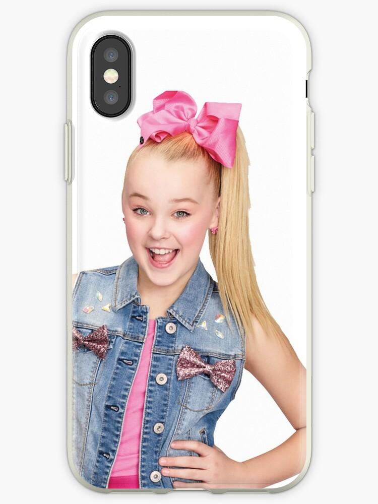 the latest 816b5 0e988 'jojo siwa' iPhone Case by hlncxiiiv