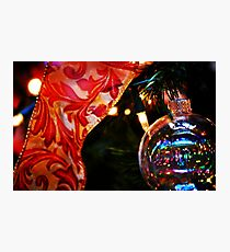 Ornament & Ribbon Photographic Print