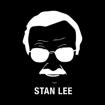 Minimalist Stan Lee by Nkioi