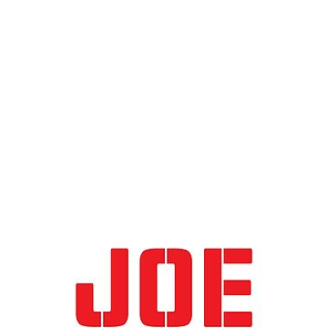 Joe Joe Joe Joe White by grouppixel