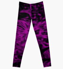 Purple Fire Leggings