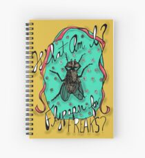 Freaky Fly Spiral Notebook