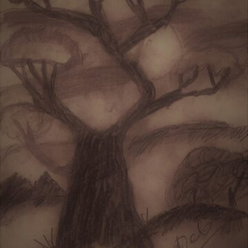 Tree Line at Dusk by Doodles68
