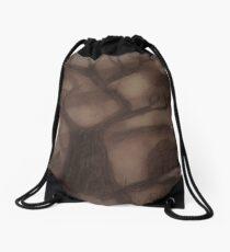 Tree Line at Dusk Drawstring Bag