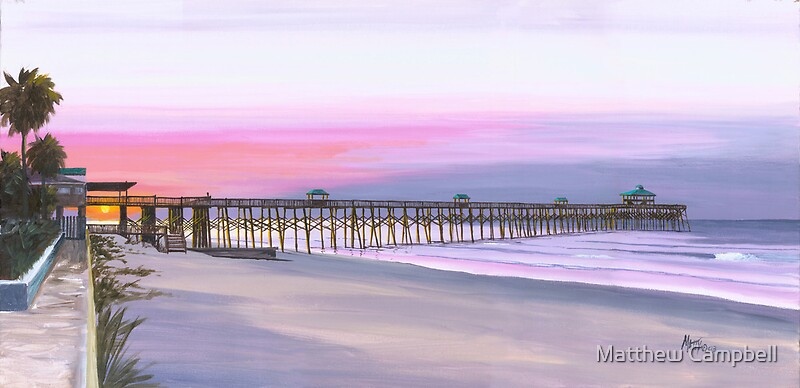 Quot Quot Folly Beach Pier Quot Folly Beach Sc Usa Quot By Matthew