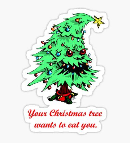 evil tannenbaum Sticker