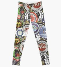 Northern Soul Patches OKEH Wigan Pier Keep The Faith  Leggings