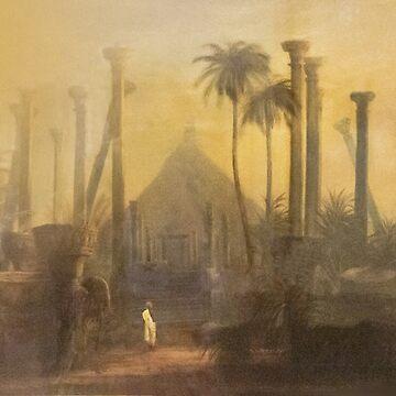 Vintage Ceylon Art Series - Polonnaruwa by darkydoors