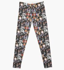 George Michael Colourful Montage Signed Pop Art Style Design Leggings