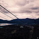 View of Lake Ashi from Hakone Ropeway - Hakone, Japan by IkuTree