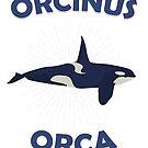 Orcinus Orca Orca Killer whale Whale gift Favorite pet by ArtOfCopenhagen