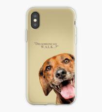 Curious and Cute Rhodesian Ridgeback iPhone Case