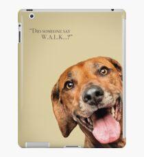 Curious and Cute Rhodesian Ridgeback iPad Case/Skin