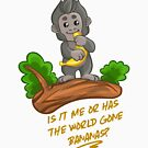 Monkey Magic: World Gone Bananas by matomatonuk