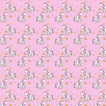 pretty pink princess ponies pattern by jazzydevil
