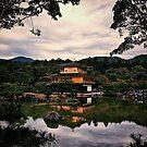 Kinkakuji Temple - Kyoto, Japan by IkuTree