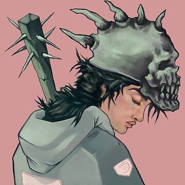 Punk Skater Girl by kikoeart