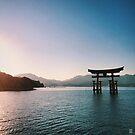 Miyajima Floating Torii Gate - Miyajima, Japan by IkuTree