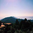 View from Mount Misen Summit - Miyajima, Japan by IkuTree