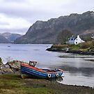 Boat at Plockton, Highlands of Scotland by jacqi