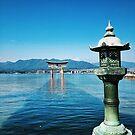 Ikutsushima Floatin Torii Gate - Miyajima, Japan by IkuTree
