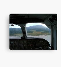 View from the cockpit - Great Barrier Island..........! Canvas Print