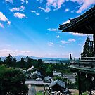 Nigatsu-do, Temple in the Sky - Nara, Japan by IkuTree