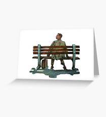 Forrest gump Greeting Card