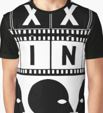 CINEMA HEAD FILMSTRIP Graphic T-Shirt