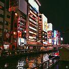 Dotonbori at Night - Osaka, Japan by IkuTree