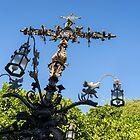 Angels and Snakes - Cruz de la Cerrajería - Cross of the Locksmith by Georgia Mizuleva
