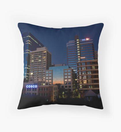 Sydney skyline 2 Throw Pillow