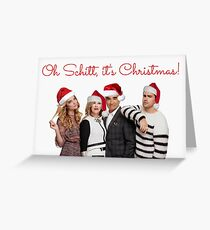 Schitt's Creek Christmas cards, Funny Xmas cards, Meme greeting cards, Schitt's Creek mugs, Schitt's Creek stickers Greeting Card